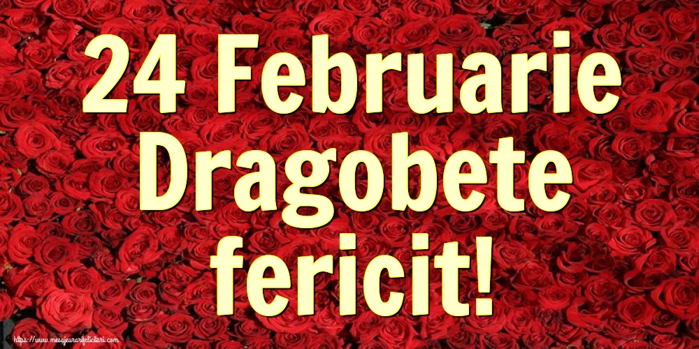 Cele mai apreciate felicitari de Dragobete - 24 Februarie Dragobete fericit!