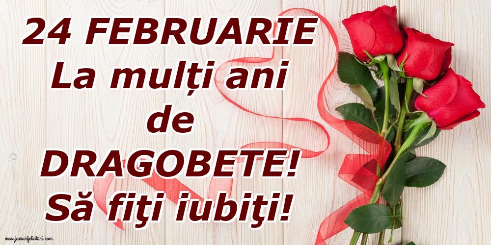 La mulți ani de Dragobete! Să fiţi iubiţi!