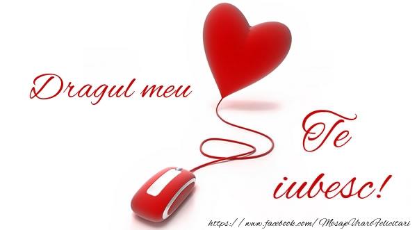 Felicitari de dragoste - Dragul meu te iubesc! - mesajeurarifelicitari.com