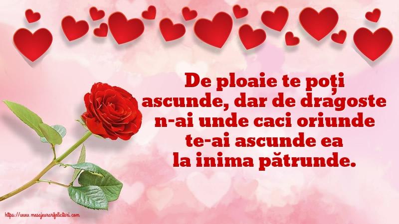 Felicitari de dragoste - De dragoste nu te poți ascunde