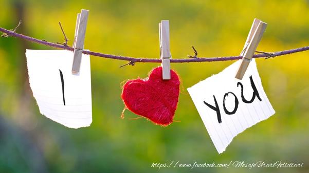 Felicitari de dragoste - I love you