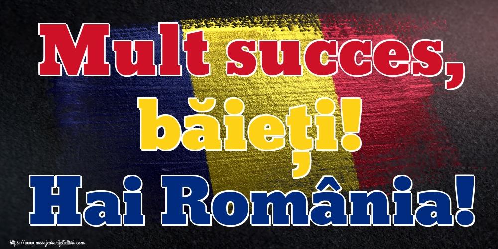 Imagini pentru Evenimente Sportive - Mult succes, băieți! Hai România!