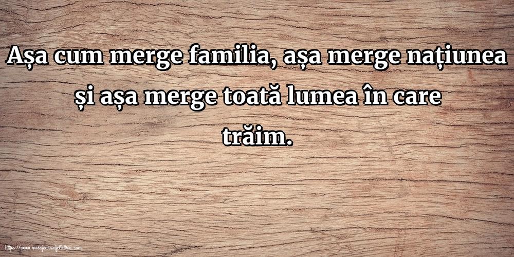 Imagini despre Familie - Așa cum merge familia, așa merge națiunea