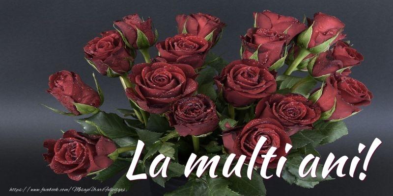 Cele mai apreciate felicitari cu flori - La multi ani!