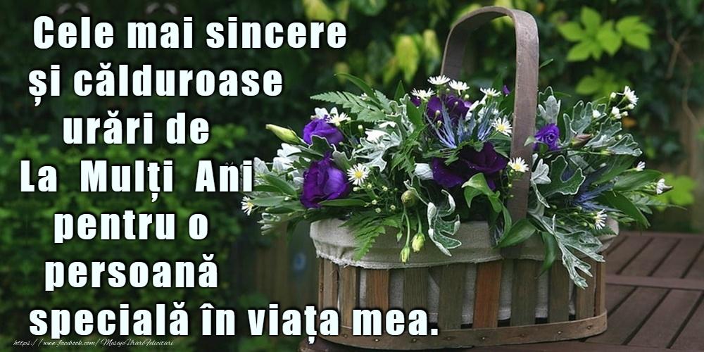 Felicitari cu flori - La mulți ani! - mesajeurarifelicitari.com
