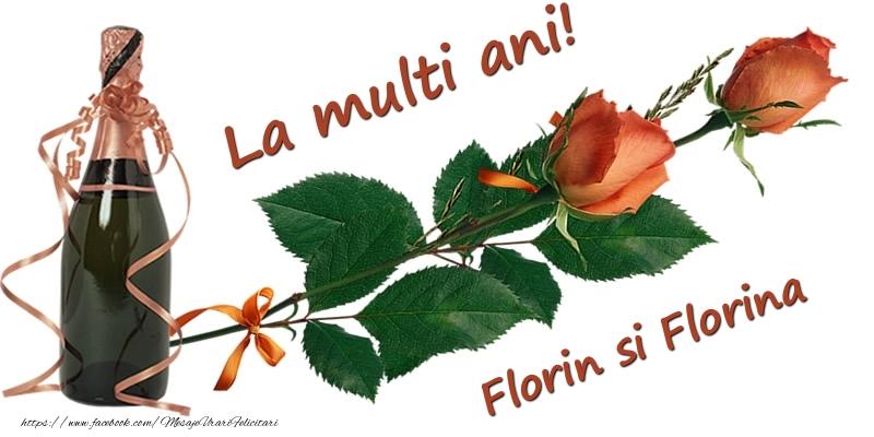 Felicitari de Florii - La multi ani! Florin si Florina