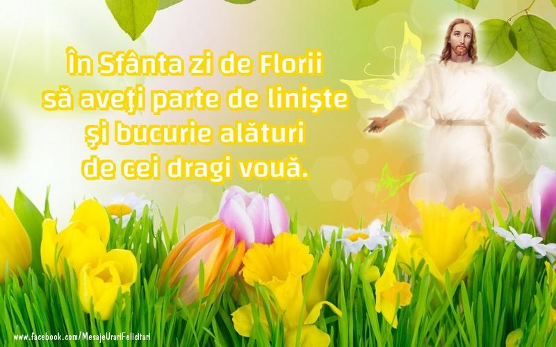 Felicitari de Florii - La multi ani!