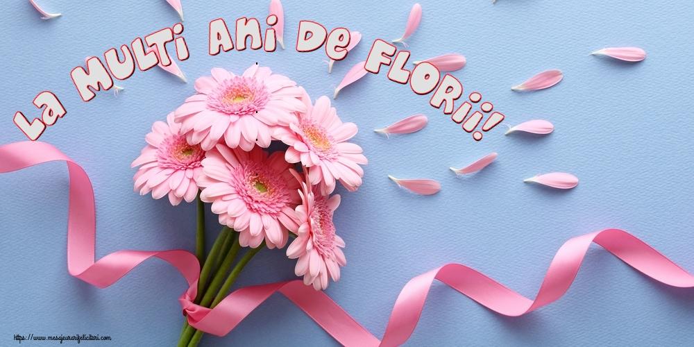 Felicitari de Florii - La Multi Ani de Florii! - mesajeurarifelicitari.com