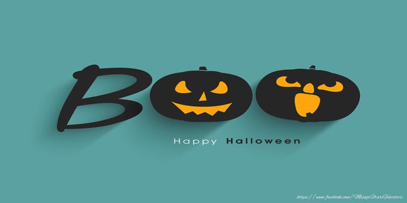 Felicitari de Halloween - Boo Happy Halloween!