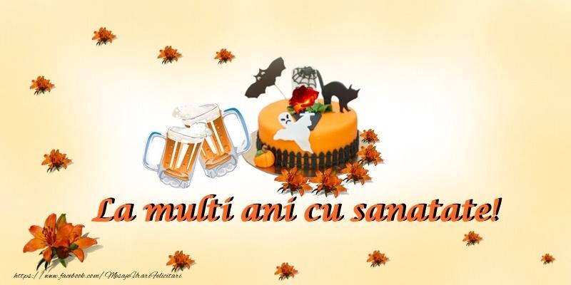 Felicitari de Halloween - La multi ani cu sanatate!