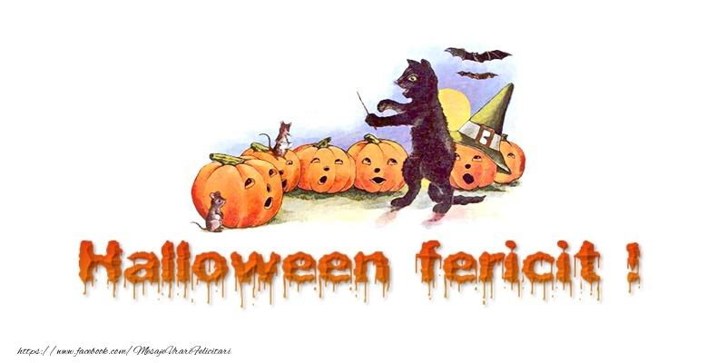 Felicitari de Halloween - Halloween Fericit!