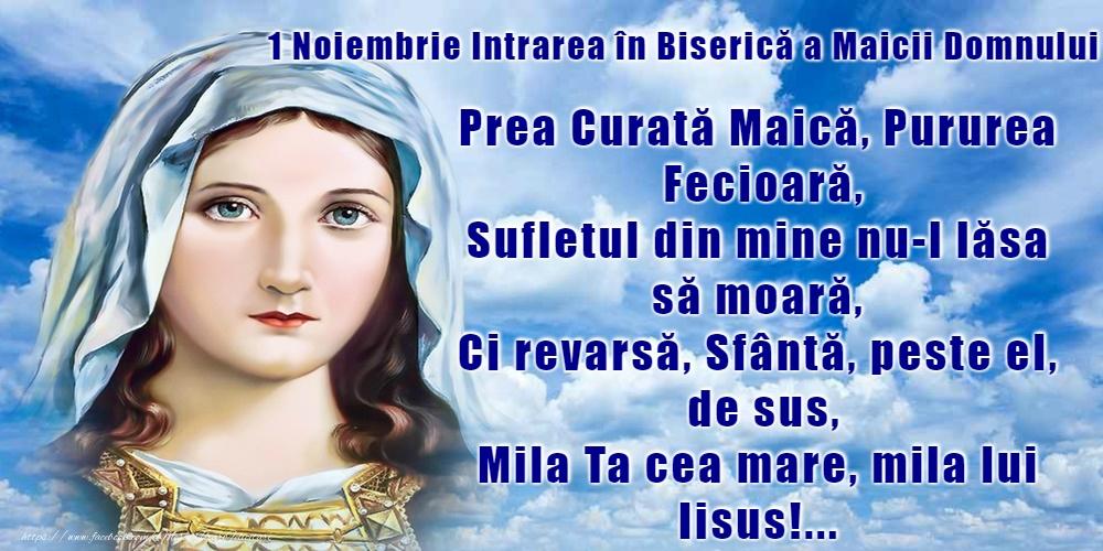 Domnului Sfântă Marie, roagă-te pentru noi!