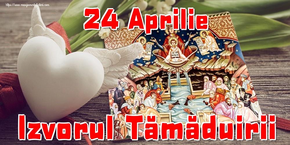 Imagini de Izvorul Tămăduirii - 24 Aprilie Izvorul Tămăduirii