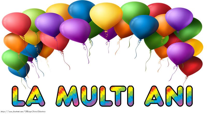 Felicitari de la multi ani - La multi ani!