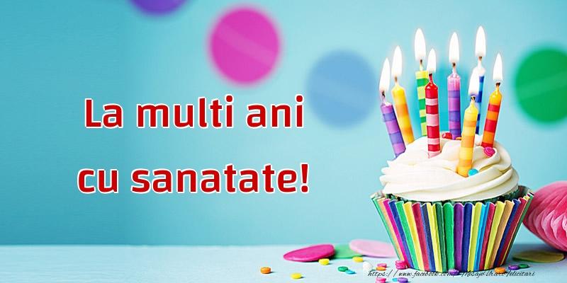 Felicitari de la multi ani cu tort - La multi ani