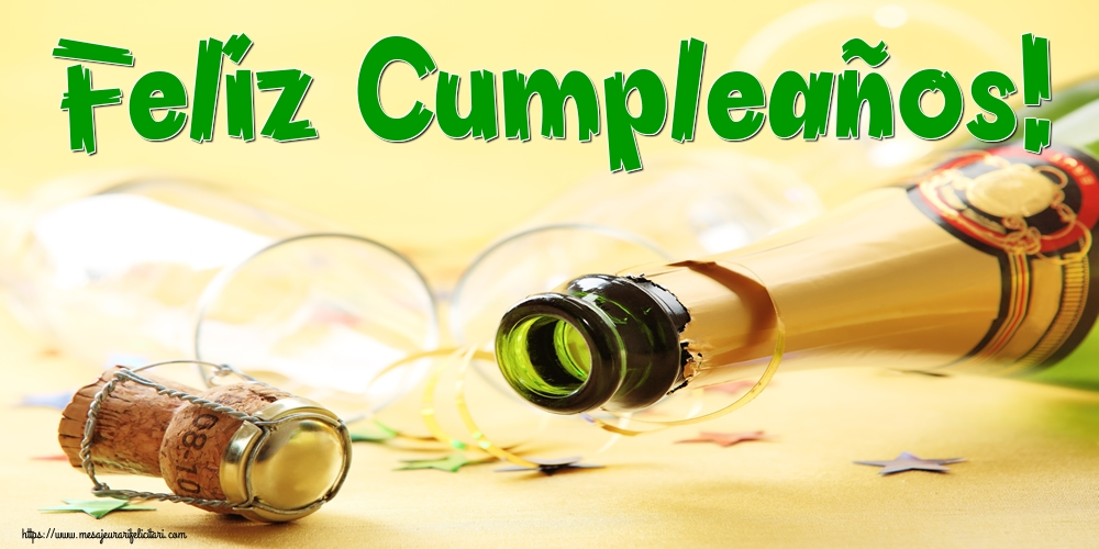 Felicitari de la multi ani in Spaniola - Feliz Cumpleaños!