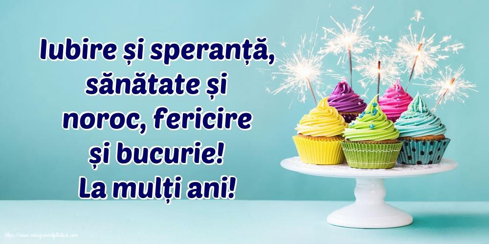 Felicitari de la multi ani cu mesaje - La mulți ani!