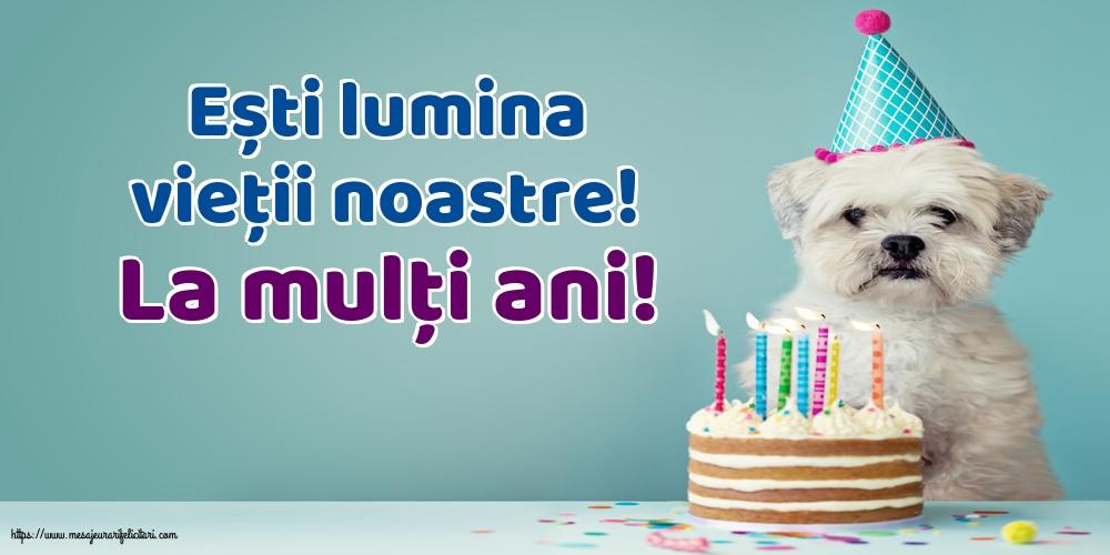 Felicitari de la multi ani cu mesaje - La mulţi ani!