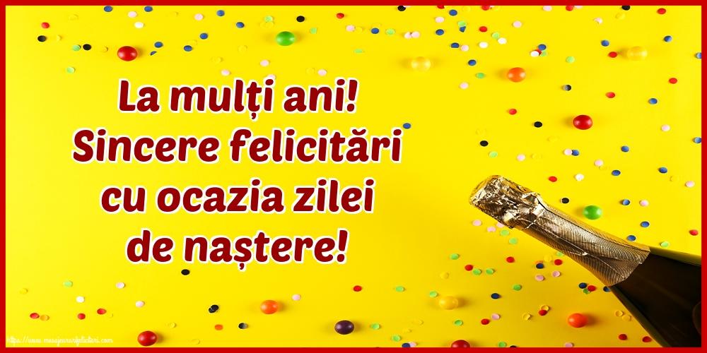Felicitari de la multi ani cu mesaje - La mulți ani! Sincere felicitări cu ocazia zilei de naștere!