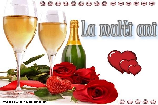 Felicitari de la multi ani - La multi ani - mesajeurarifelicitari.com