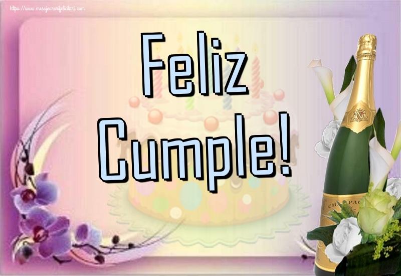 Felicitari de la multi ani in Spaniola - Feliz Cumple!