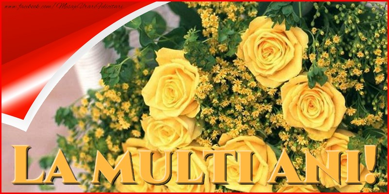 Felicitari de la multi ani - La multi ani! - mesajeurarifelicitari.com