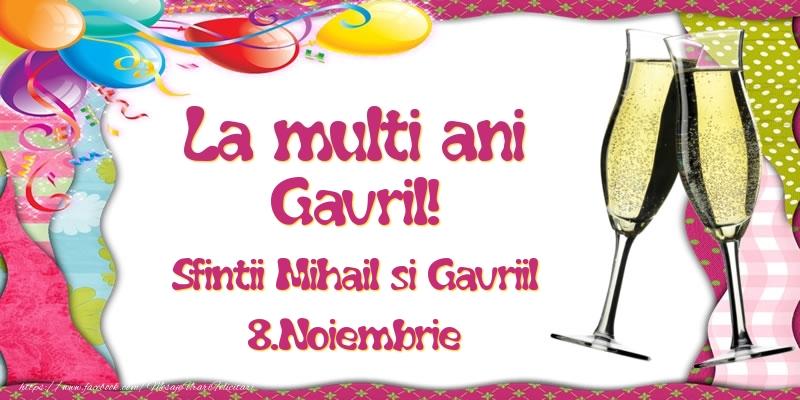 La multi ani, Gavril! Sfintii Mihail si Gavriil - 8.Noiembrie