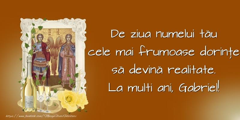 Felicitari de Sfintii Mihail si Gavril crestine - De ziua numelui tău