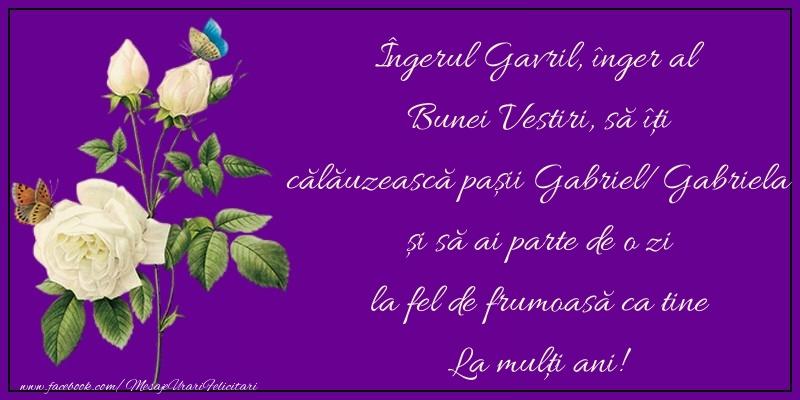 Felicitari de Sfintii Mihail si Gavril - La mulţi ani!