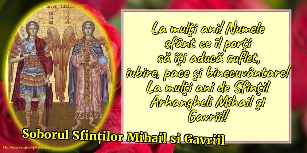 Felicitari de Sfintii Mihail si Gavril cu mesaje - Soborul Sfinților Mihail si Gavriil