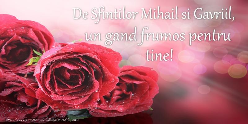 De Sfintilor Mihail si Gavriil, un gand frumos pentru tine!