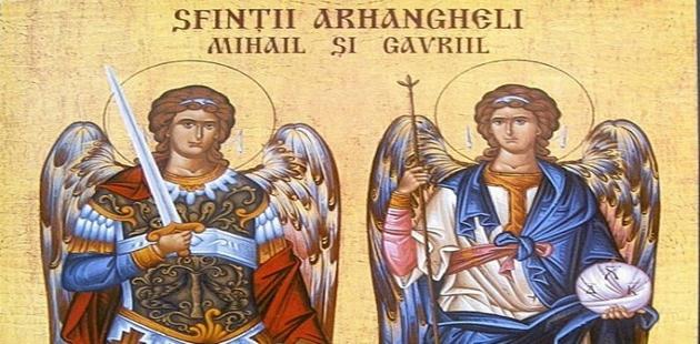 Sfintii Mihail si Gavriil: Mesaje şi urări, felicitări, video şi felicitări muzicale şi animate