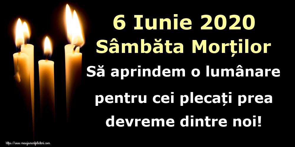 Imagini de Moșii de vară - 6 Iunie 2020 Sâmbăta Morților Să aprindem o lumânare pentru cei plecați prea devreme dintre noi!