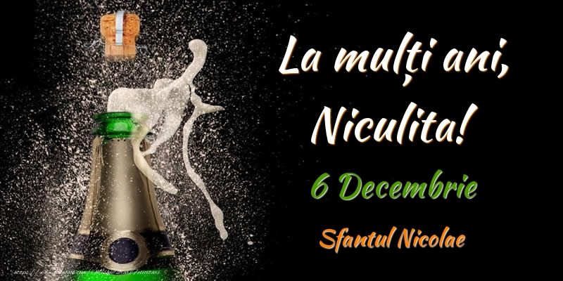 Felicitari de Mos Nicolae - La multi ani, Niculita! 6 Decembrie Sfantul Nicolae
