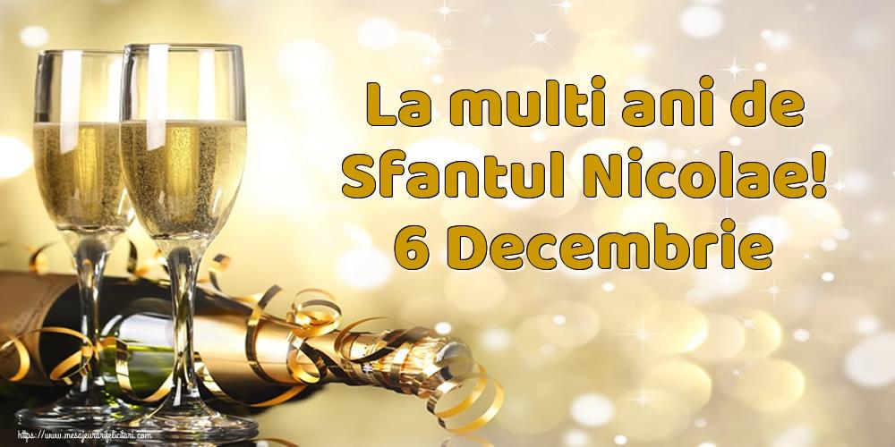Felicitari de Mos Nicolae - La multi ani de Sfantul Nicolae! 6 Decembrie