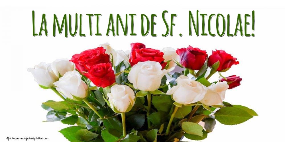 Felicitari de Mos Nicolae - La multi ani de Sf. Nicolae!