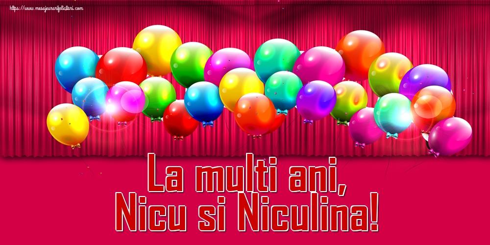 Felicitari de Mos Nicolae - La multi ani, Nicu si Niculina!