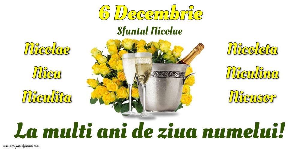 Felicitari de Mos Nicolae - 6 Decembrie - Sfantul Nicolae