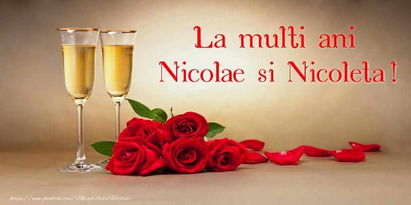 Mos Nicolae La multi ani Nicolae si Nicoleta!