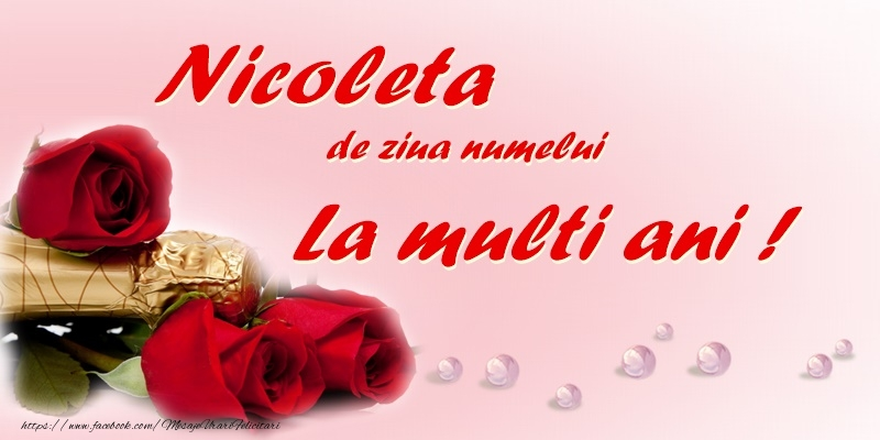 Mos Nicolae Nicoleta, de ziua numelui, La multi ani!