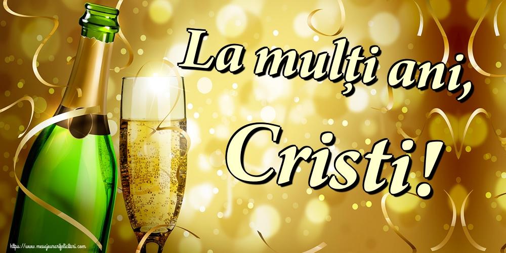Cele mai apreciate felicitari de Nasterea Domnului - La mulți ani, Cristi!
