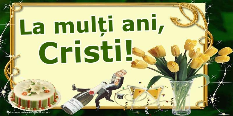 Felicitari de Nasterea Domnului - La mulți ani, Cristi!