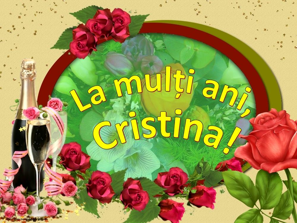 Felicitari de Nasterea Domnului - La mulți ani, Cristina!
