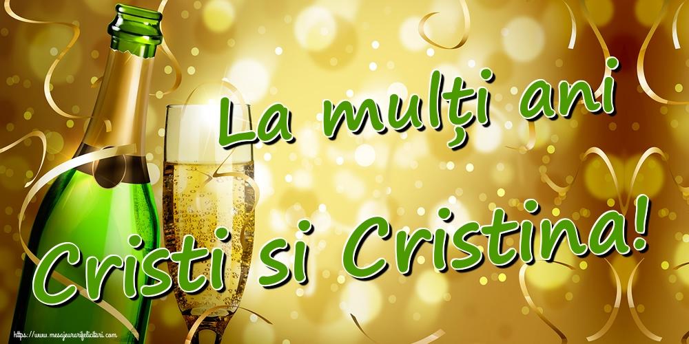 Cele mai apreciate felicitari de Nasterea Domnului - La mulți ani Cristi si Cristina!