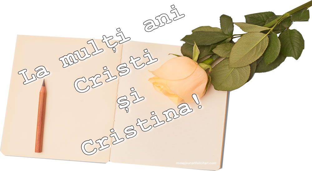 Felicitari de Nasterea Domnului - La mulți ani Cristi si Cristina! - mesajeurarifelicitari.com
