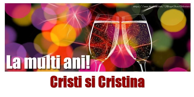 Cele mai apreciate felicitari de Nasterea Domnului - La multi ani! Cristi si Cristina