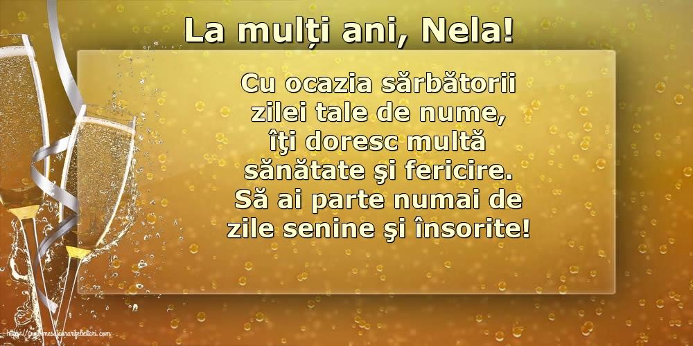 Cele mai apreciate felicitari de Nasterea Sfantului Ioan - La mulți ani, Nela!