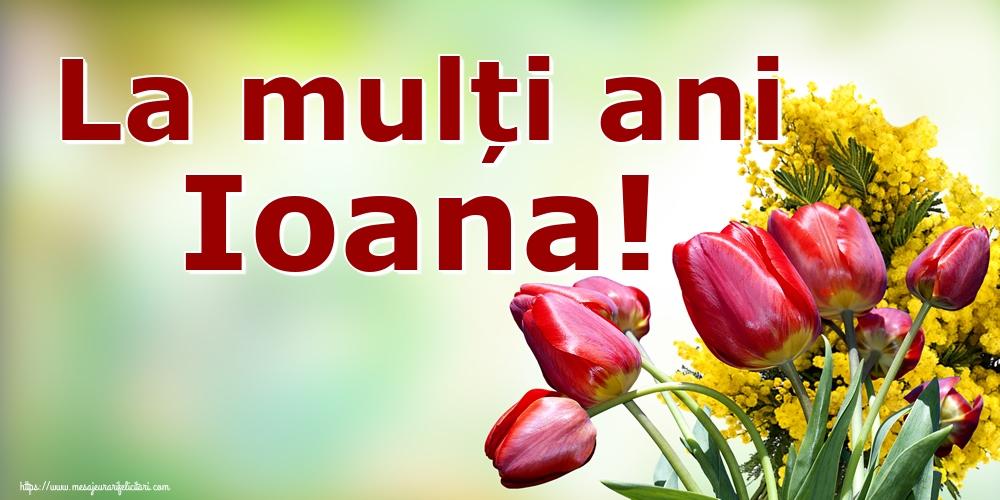 Cele mai apreciate felicitari de Nasterea Sfantului Ioan - La mulți ani Ioana!