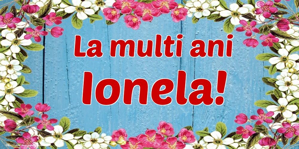 Cele mai apreciate felicitari de Nasterea Sfantului Ioan - La multi ani Ionela!