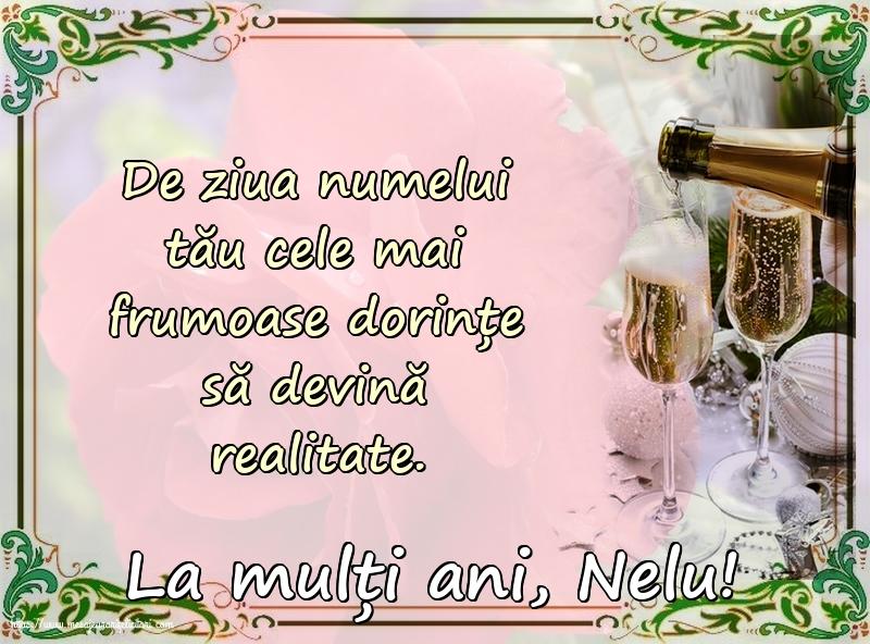 Cele mai apreciate felicitari de Nasterea Sfantului Ioan - La mulți ani, Nelu!